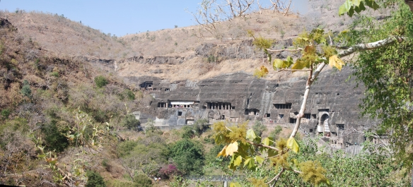 Ajanta (3 samengevoegde foto's gemaakt in december 2012)